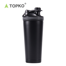 Topko Double Wall 18/8 Stainless Steel <span class=keywords><strong>Protein</strong></span> Shaker <span class=keywords><strong>Botol</strong></span> Logam Vakum Terisolasi <span class=keywords><strong>Botol</strong></span> Air