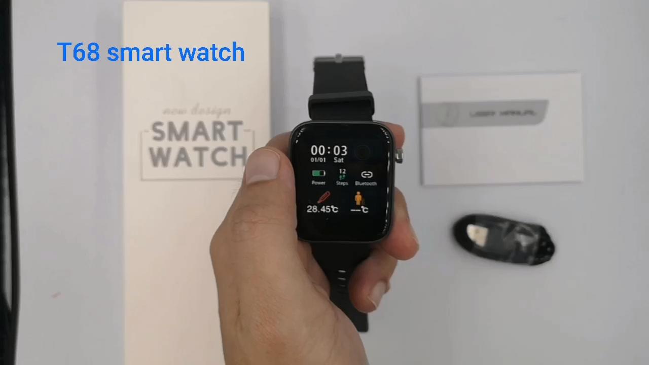 أتصل الرياضة IWO اللياقة البدنية شعار مخصص ECG الجملة ضغط الدم Relojes Inteligentes بلوتوث الروبوت للماء ساعة ذكية