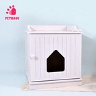 Pet Internet's Best Decorative Installable Flat Package Pet House Indoor