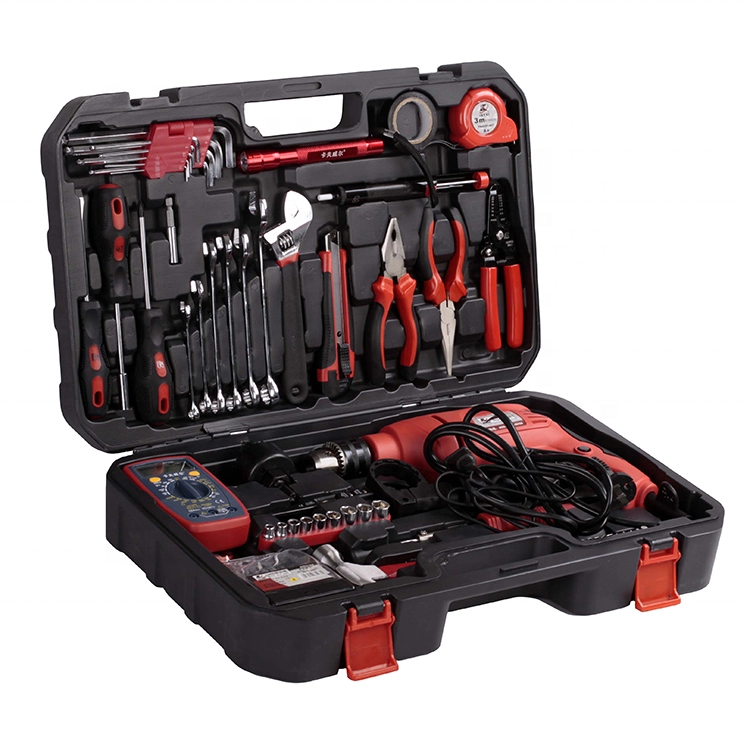 Multifunction power electric drill tools set