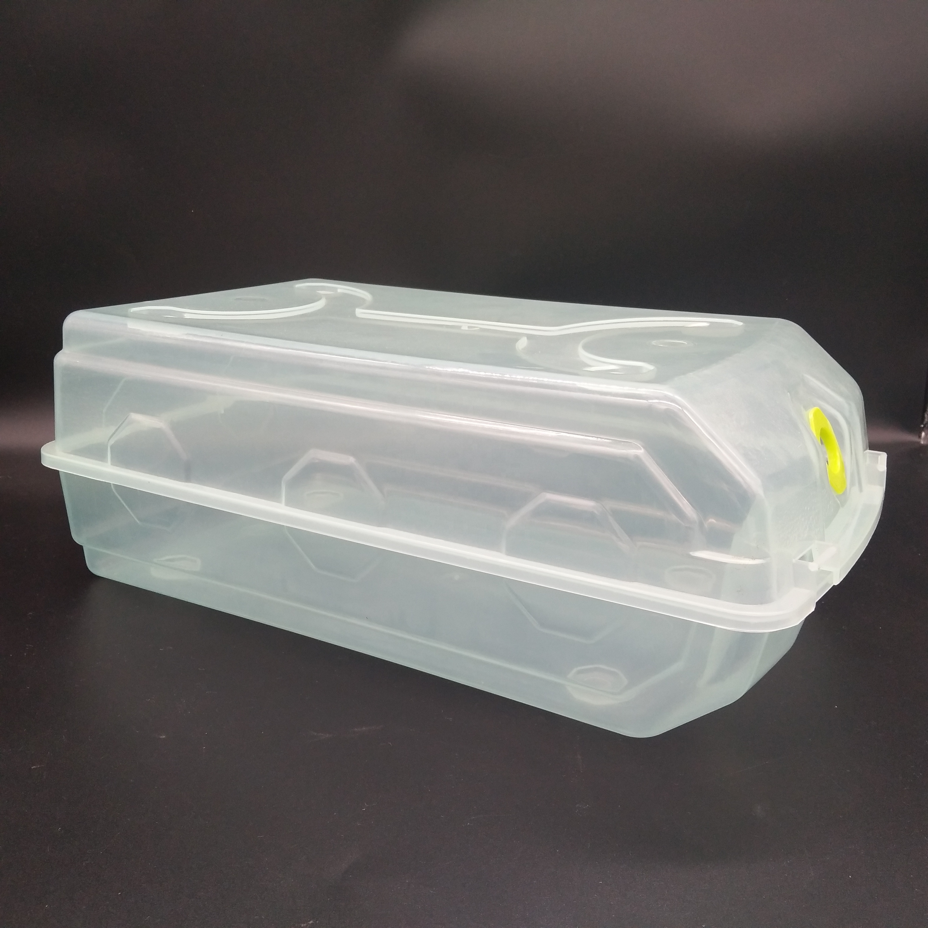 Faltbare Klar Kunststoff Schuh Boxen Stapelbar Floding DIY