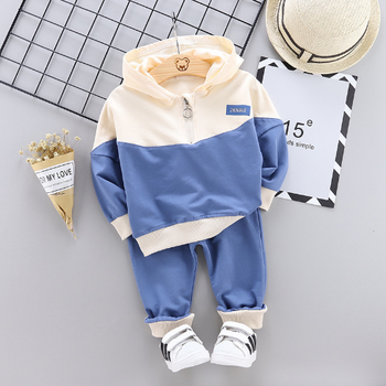 100% Cotton Kid Clothes Set Baby Hoodies Clothing Set