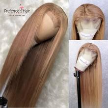 Предпочтительный парик красного и серого цвета с прямыми волосами младенца 99j парик фронта шнурка prepucked бразильские Remy человеческие волосы ...(Китай)