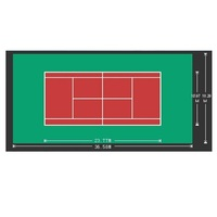 Changyue customization hot sale acrylic flooring for tennis courts surfaces for gyms
