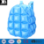 heavy duty vinyl inflatable cute bubble backpack durable plastic blow up girls space bags beach bag