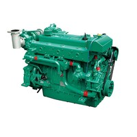 In stock 265kw Water-Cooled 6 Cylinders Doosan L126TI Marine Diesel Engine