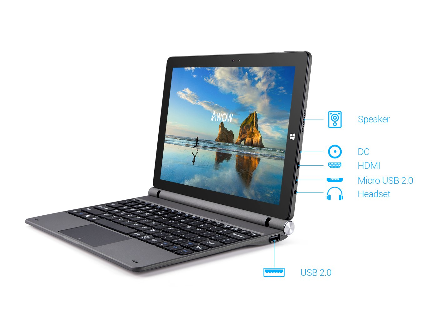 2020 best selling win10  Desktop PC Computer 2in1 tablet pc mini computer 2 in 1 two in one tablet with best price