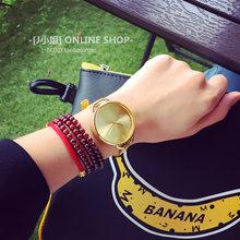 VOHE Модные женские простые наручные часы Роскошные повседневные часы из розового золота со стальным циферблатом кварцевые часы Relogio Feminino(Китай)