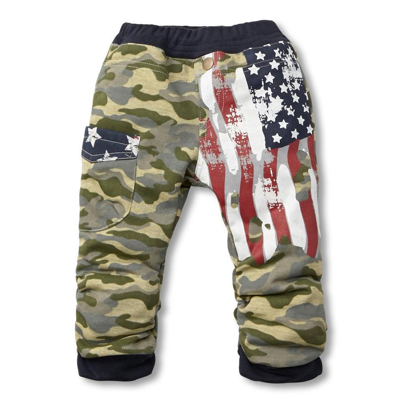 2015 Latest Fashion Pattern Cotton Baby Boy Harem Warm Pants For Winter
