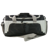 fashion weekend duffel bag big business private label men travel bag with shoe compartment custom logo gym bag
