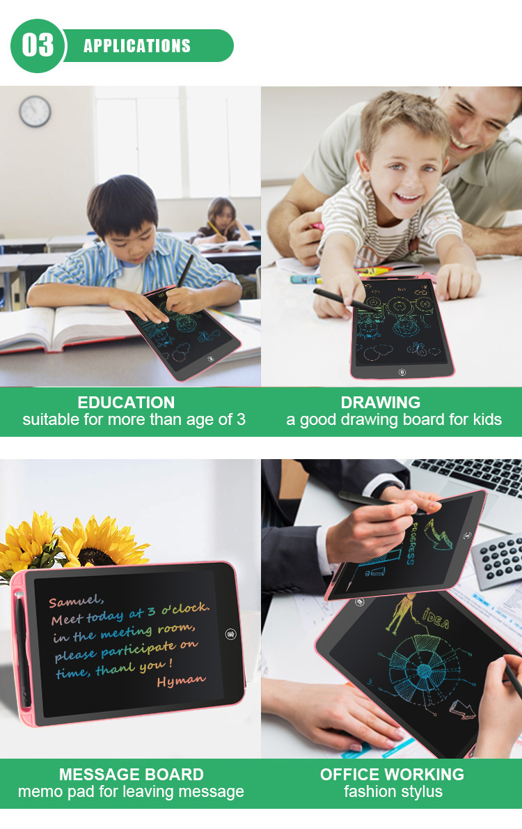 NEWYES Custom 10 Inch Smart Digital Electronic Writing Pad Kids Lcd Ewriter Jot Drawing Tablet