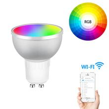 Smart Home Automation <span class=keywords><strong>Draadloze</strong></span> WiFi App Passen Licht <span class=keywords><strong>Kleur</strong></span> <span class=keywords><strong>LED</strong></span> WiFi <span class=keywords><strong>Lamp</strong></span> Slimme <span class=keywords><strong>Lamp</strong></span> GU10