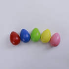2020 Hot products Colourful School Teaching aids mini percussion musical baby plastic egg shakers percussion