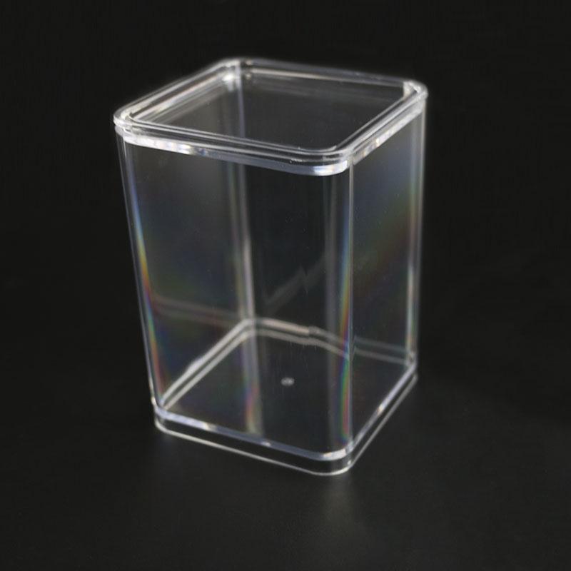Boda decorativa caja de dulces/grado PS cookie contenedor