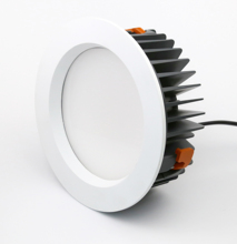 אלומיניום לחתוך החוצה 175mm IP44 dimmable <span class=keywords><strong>led</strong></span> <span class=keywords><strong>downlight</strong></span> saa rohs <span class=keywords><strong>led</strong></span> <span class=keywords><strong>downlight</strong></span> 26w