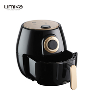 4.0 Liter Capacity Fast Healthier Fried Food Mechanic No Oil Multi Air Fryer With Automatic Timer And Temperature Control