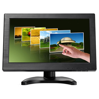 11 inch lcd touch screen monitor with vga hd mi usb interface