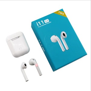 Popup Window Touch Control Mini Wireless Earphone i11 Earbuds In Headphone