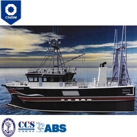 Fiberglass or Steel Hull Material 83 ft China Factory Longline Tuna Commercial Fishing Boats for Sale with Prices