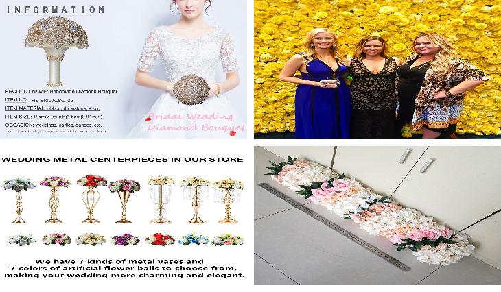 웨딩 장식 꽃 벽 패널 배경 인공 핑크 흰색 꽃 벽 배경