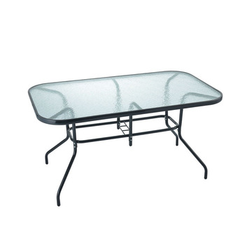 Cheap Outdoor Wrought Iron Glass Table