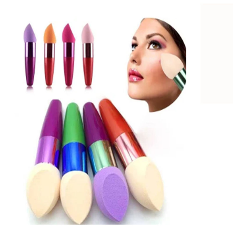 Amazon hete verkopen latex gratis microfiber make-up spons blender latex gratis make-up spons