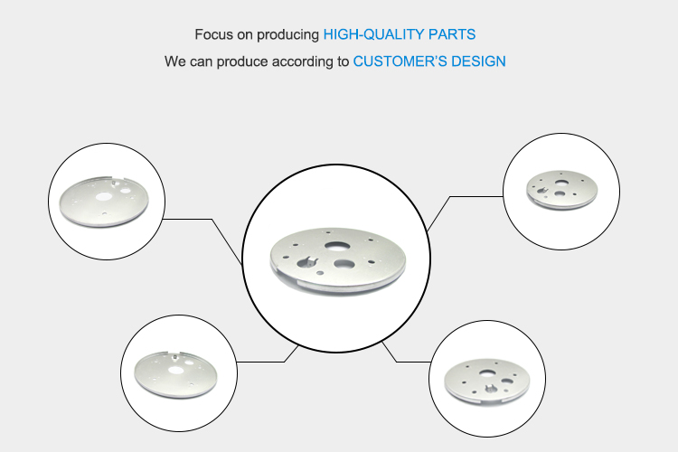 OEM Precision Stamping aluminum flange stainless steel flange