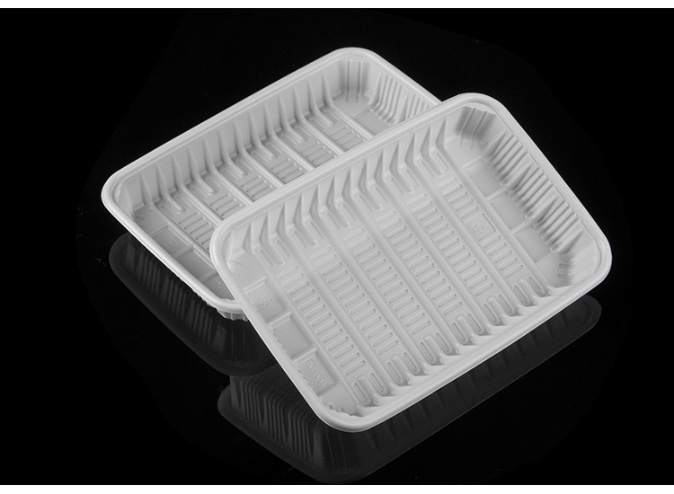 Customized Food Grade Supermarket Disposable PP PET Plastic Tray For Meat Packaging