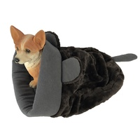 Durable Plush Fleece Warm Winter Sleeping Bag For Dogs Luxury Dog Sleeping Bag Pet Beds Unique Cat Bed Cat Sleeping