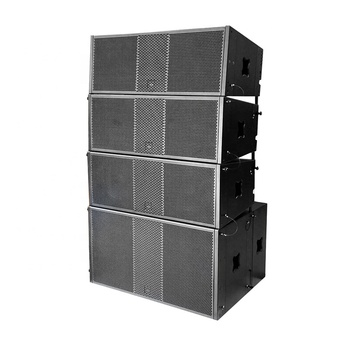 Professional outdoor concert double 12 inch NEO active line array speaker system
