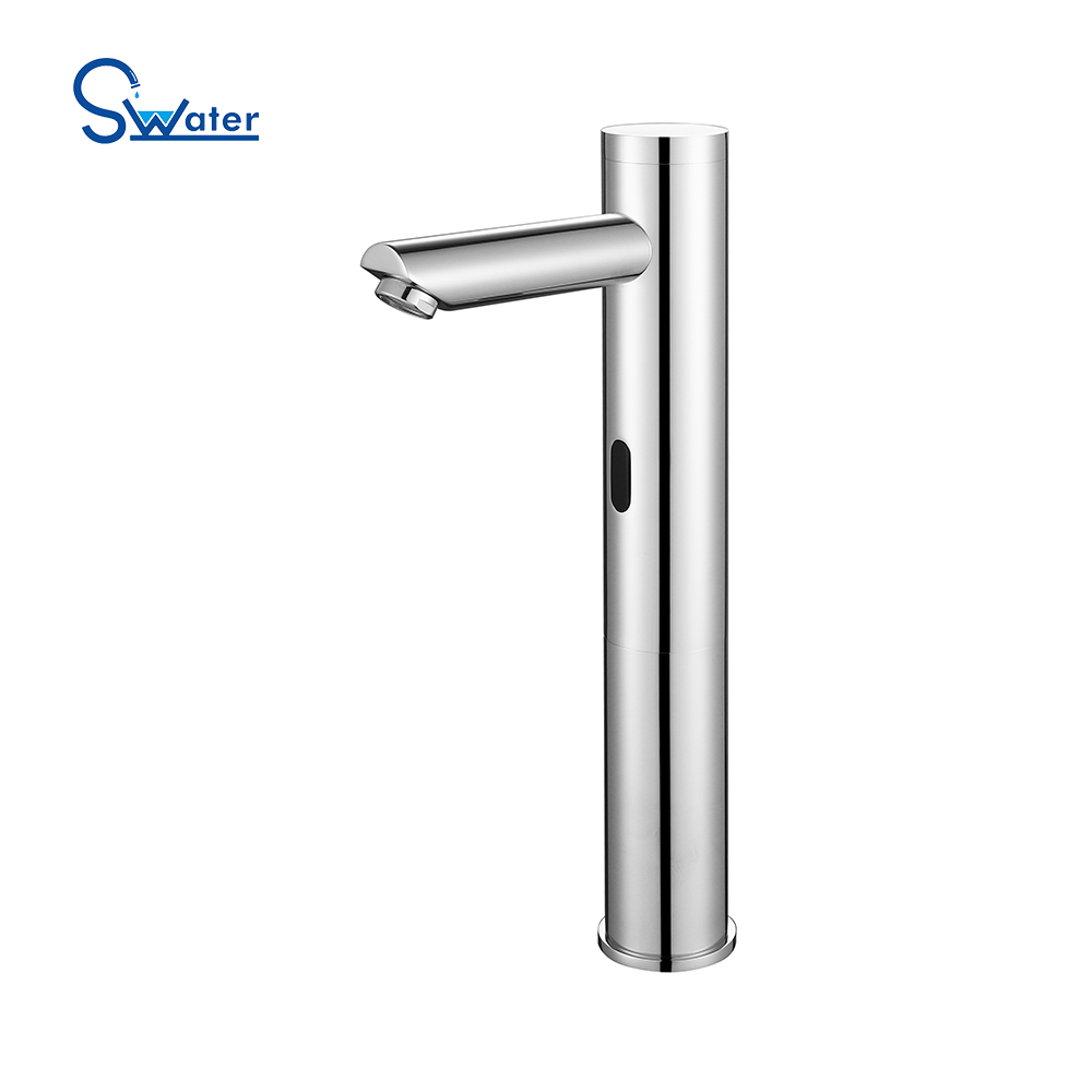 Hot and Cold Infrared Brass Automatic Sensor Water Tap