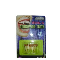 funny halloween party vampire fangs, plastic false teeth price