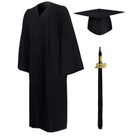 UK Bachelor Graduation Mortarboard and Gown