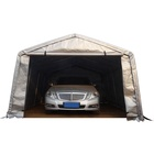 12'Wx20'L factory supply cheap durable pvc car garages canopy carport car shelter