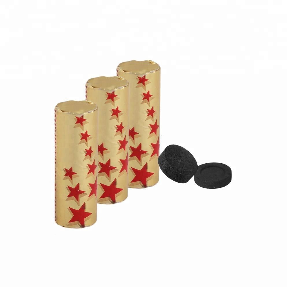 HQRH35120 Hongqiang new style disc round shisha hookah charcoal tablets