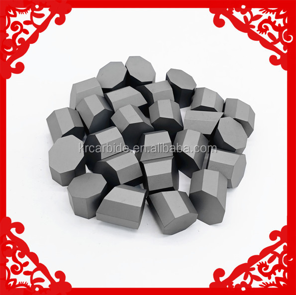 Factory Made Tungsten Carbide Octagonal Button Insert for Core Drilling Bits