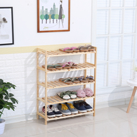 Promotional High Quality Wooden Rack Stand Livingroom/Study Room/Bathroom/ Kitchen Storage Shoe Racks