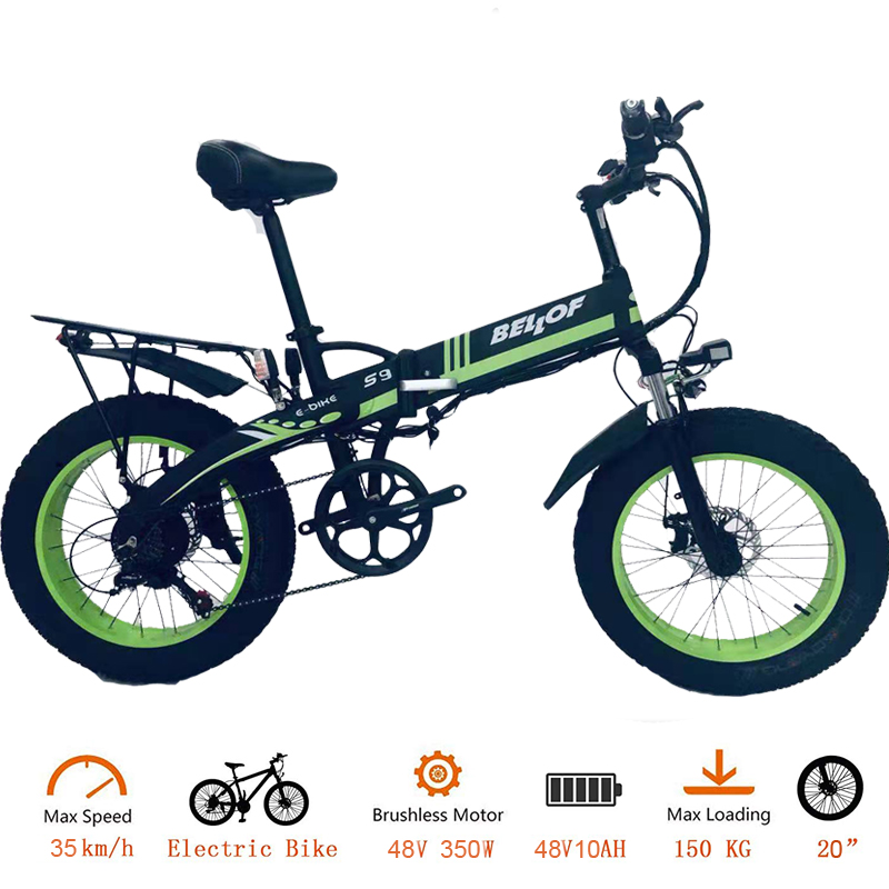 Wholesale electric bike/electric bicycle 20 inch <strong>folding</strong> 350W/500W/750W/1000W 48V 10AH/13AH Fat Tire bicycle
