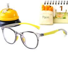 2019 Новая модная квадратная детская прозрачная рамка для очков для маленьких мальчиков, женские очки в винтажном стиле, прозрачные линзы, оп...(Китай)