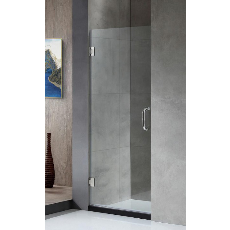 Bathroom Glass Doors Frameless Flat Hinge Shower Door