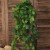 Factory Price 190cm Outdoor Green Plastic Leaf Vines Hanging Plants Artificial Ivy for Decoration