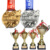 Top Sale Cheap Custom Metal 3D Sport Award Medal Trophies For Badminton