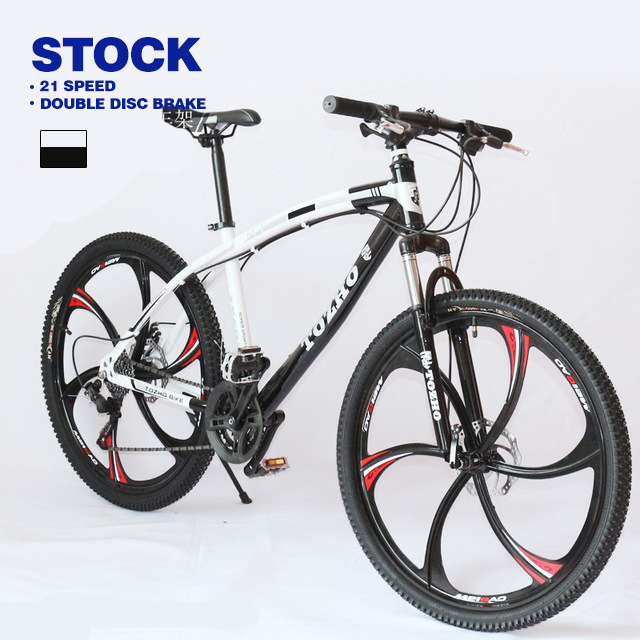26 Inch Mountain Bike mtb High Carbon Steel Bicycle for Men 21 24 27 Speed Mountain Bike