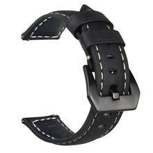 Роскошный ремешок для часов из натуральной кожи, ремешок 20 мм, новинка, быстро облегающий смарт-спортивный браслет, сменный ремешок для брас...(Китай)