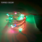 Diwali Lights Hot Sale CR2032 Battery Operated Waterproof Home Diwali Decor Led Rgb Copper Wire String Lights