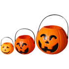 animated halloween props Pumpkin lantern barrel electronic ghost festival bar party hotel night venue atmosphere dress up candy