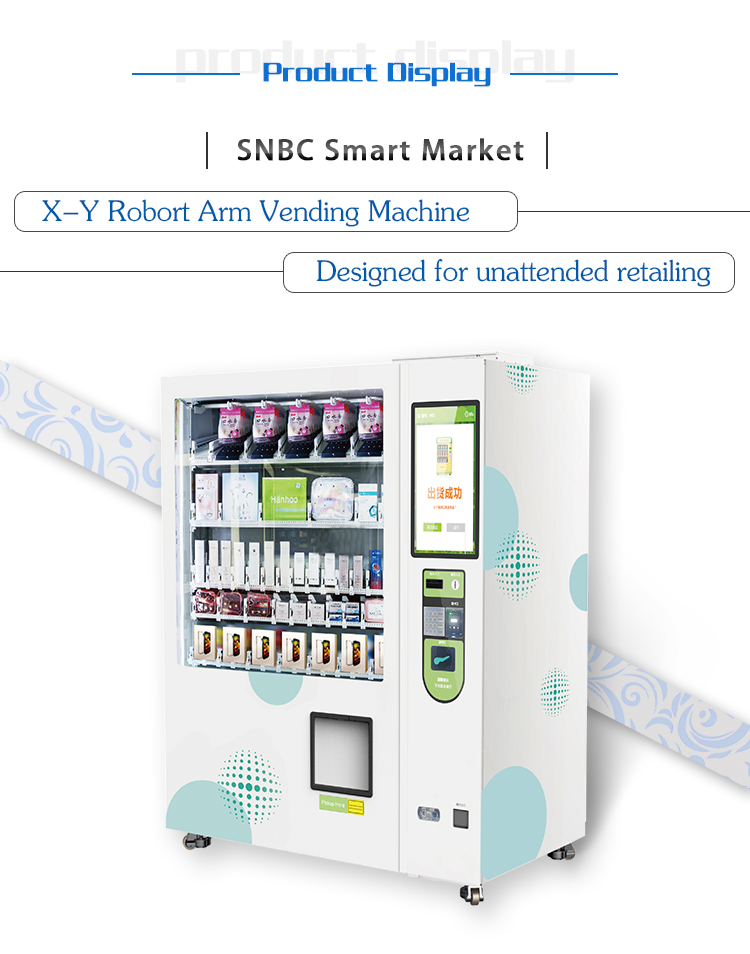 SNBC BVM-RI211Commercial Machine Vending  For Sale Snack And Drinks Soda Cotton Candy Cup Noodle Vending Machine
