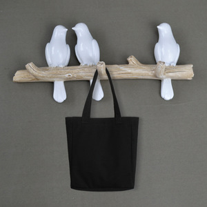 Ldyllic Bird Decoration Wall Hanging Wall Coat Three-dimensional Coat Hook