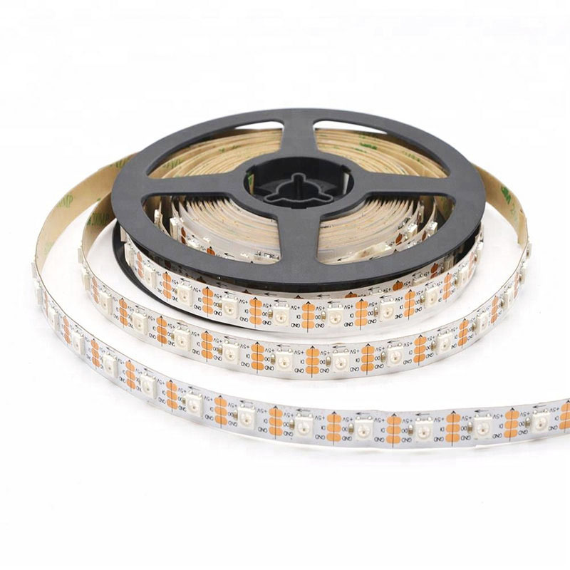 Holiday decorative led strip 4 in 1 rgbw smd 5050 12 volt 60led/meter celebration led lighting
