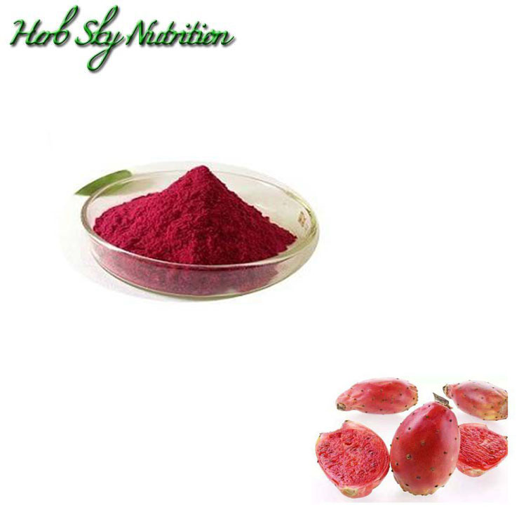 100% Natural Beverage ingredient Prickly pear fruit <strong>Powder</strong>, water soluble
